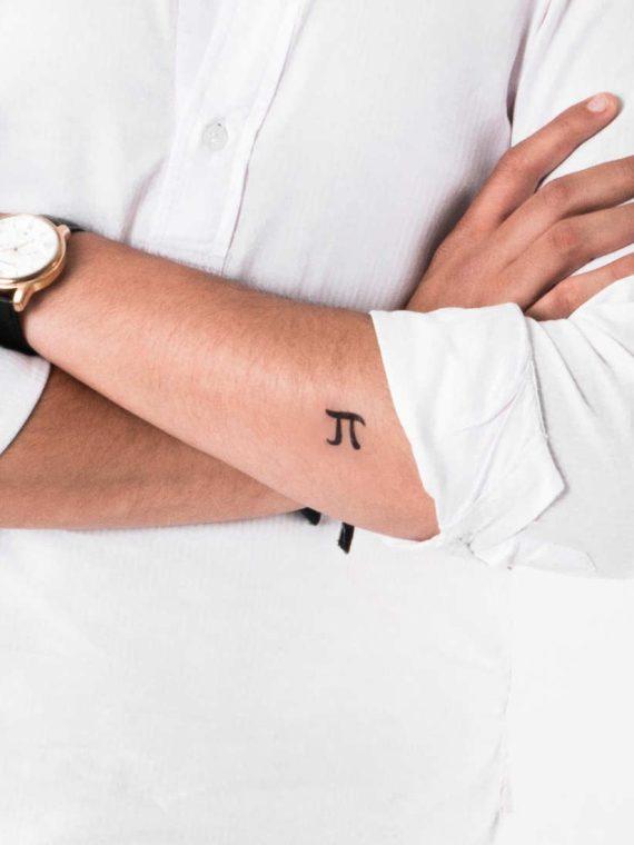 tatuaje numero pi