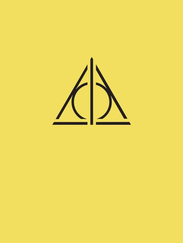 tatuaje simbolo alquimia y magia harry potter