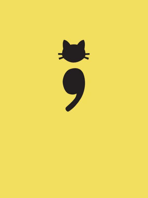 tatuaje-gato-minimalista-punto-coma