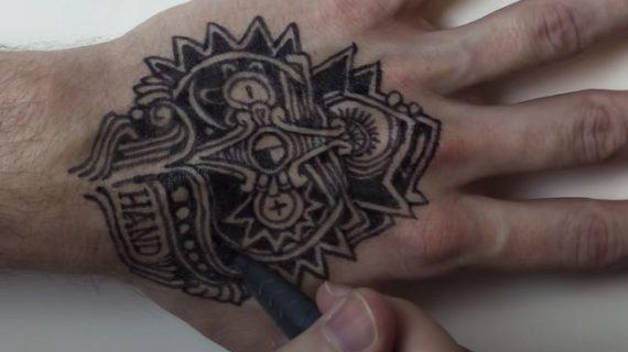 Rotuladores y bolígrafos de Tatuajes Temporales vs TATTOOW