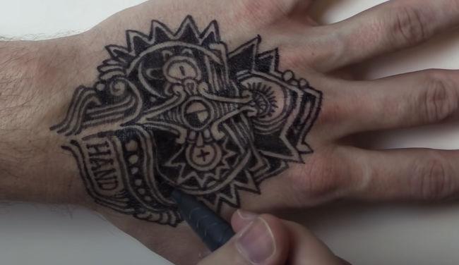 rotuladores tatuajes temporales